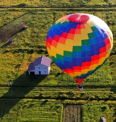 Полет на воздушном шаре, сертификат на полет на воздушном шаре, свидание на воздушном шаре