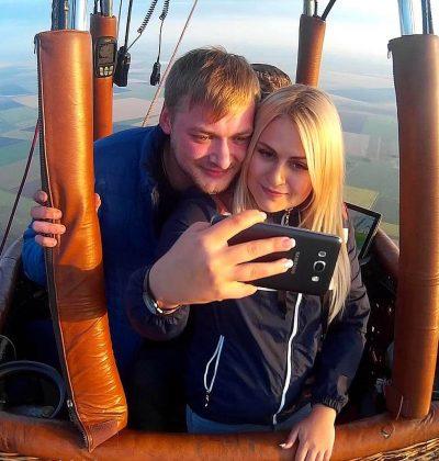 Полет на воздушном шаре в Екатеринбурге для двоих