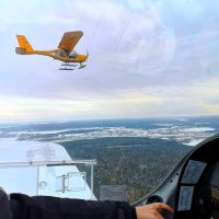 Полет на самолете, полет на самолете в Екатеринбурге