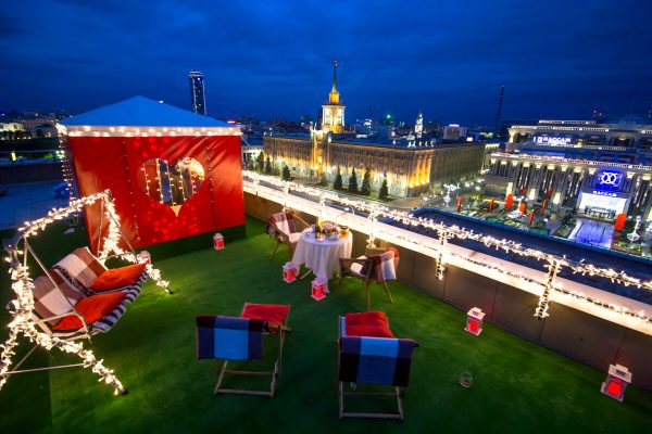 Свидание на крыше, ТЦ Европа, свидание на крыше екатеринбург